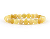 Natural yellow opal bracelet