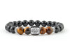 Personalized engraved bracelet for men