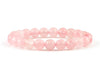 Rose quartz women's bracelet for friend
