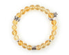 Sagittarius zodiac bracelet with citrine beads