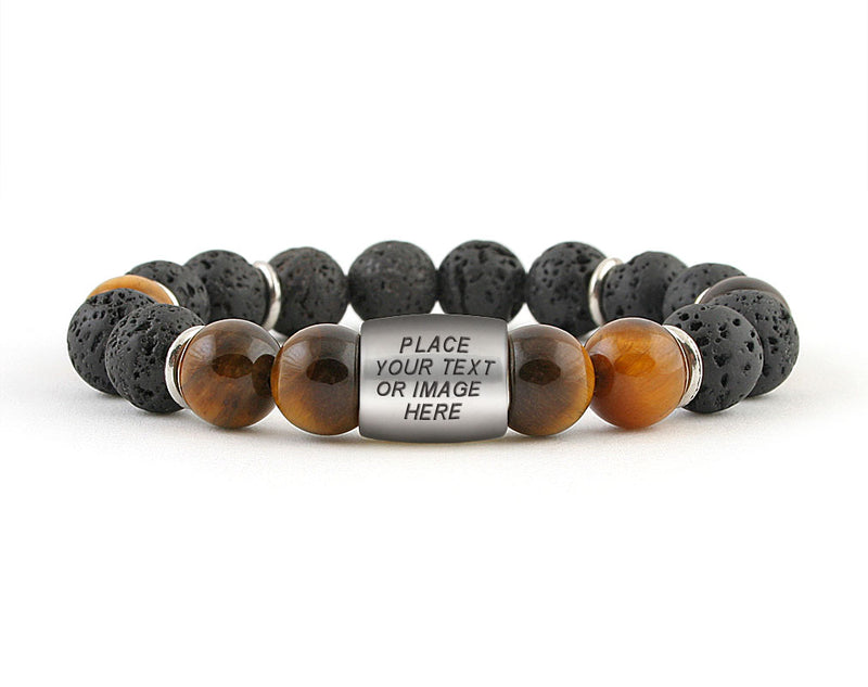 custom engravable id bracelet