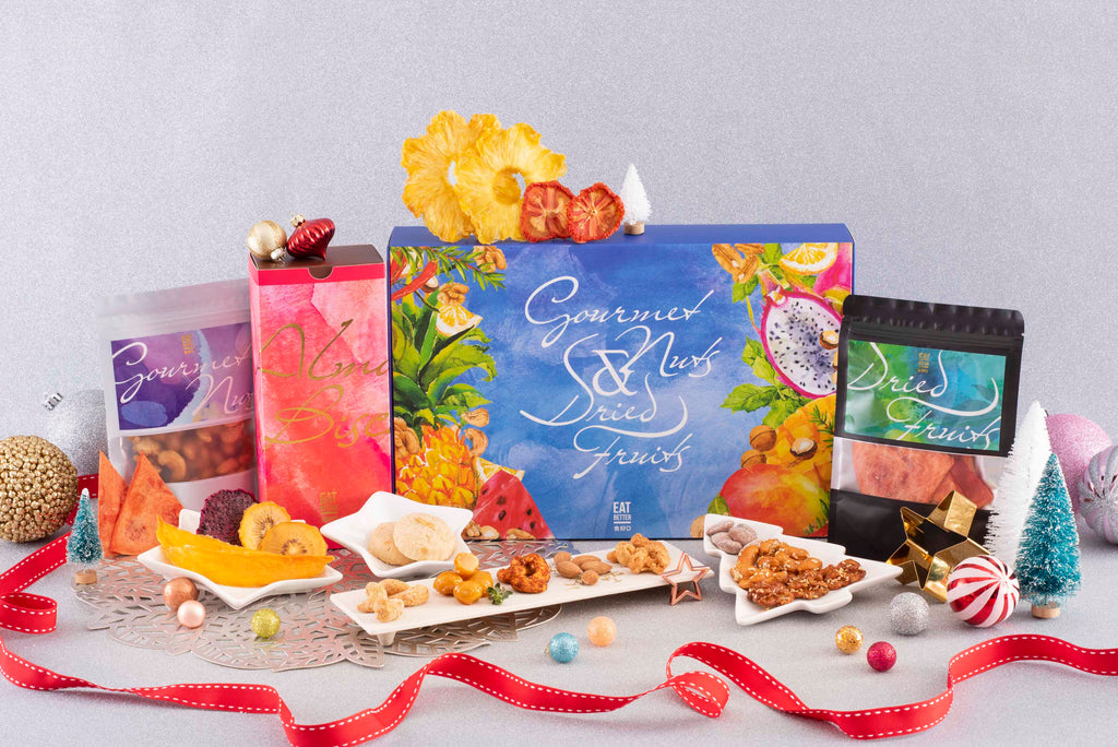 Almond Biscuits, Gourmet Nuts and Dried Fruits