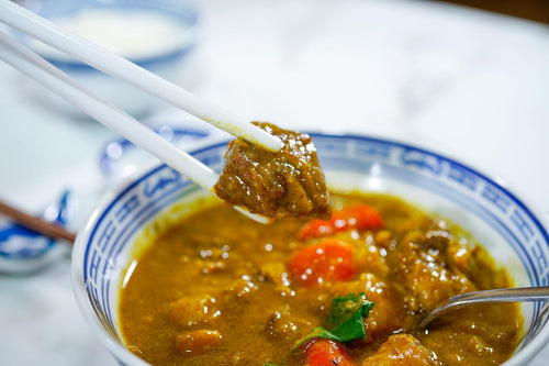 Beef Brisket Curry with Tendons