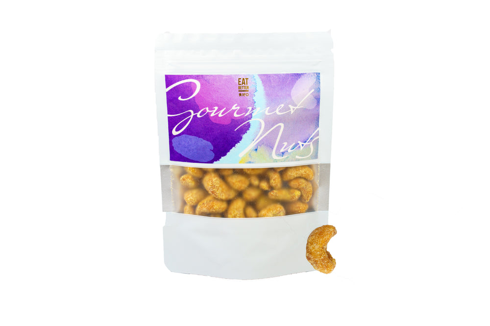 Lemon Honey Cashews