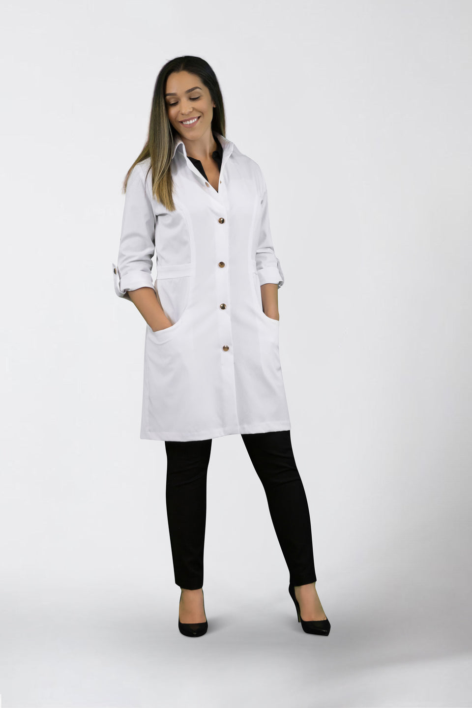 Dr. Lei Lab Coat