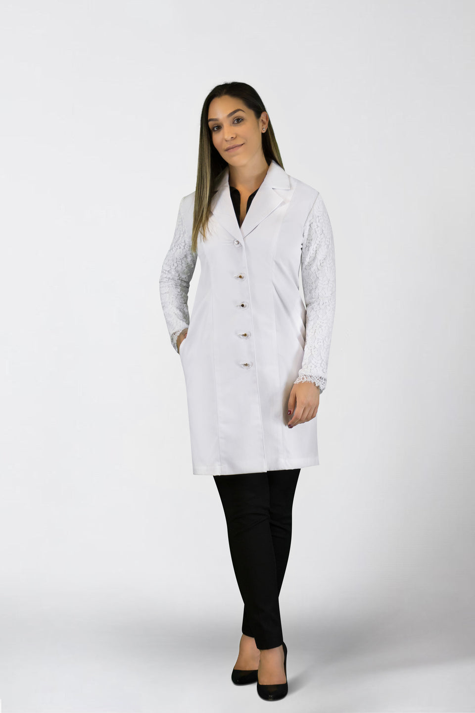 Dr. Rachel Lab Coat