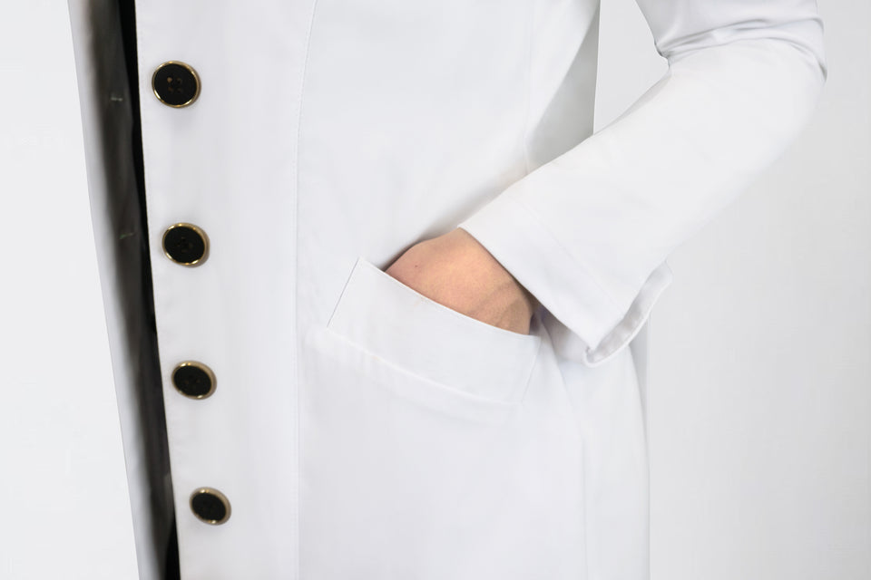 Dr. Yve Lab Coat
