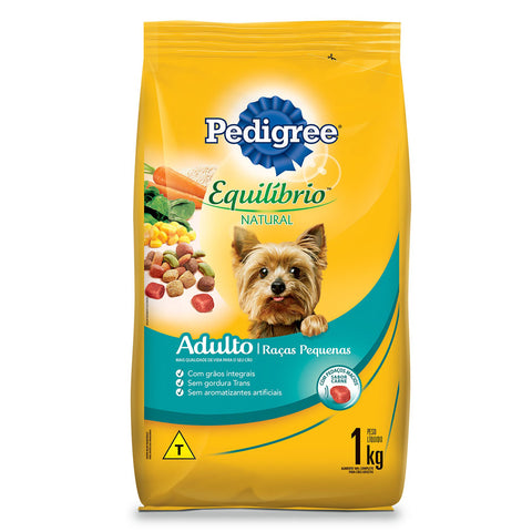 raã§ã£o pedigree para raã§as pequenas adultos 1kg