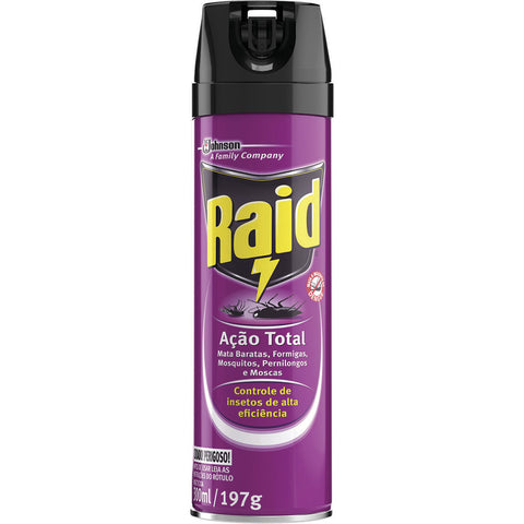 inseticida raid aã§ã£o total 300ml
