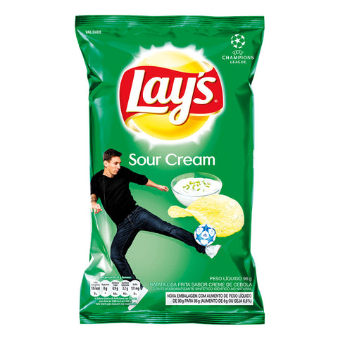 batata lays verde sour cream and onion 96g