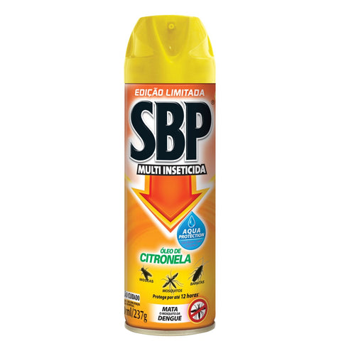 inseticida sbp citronela aerosol 300ml