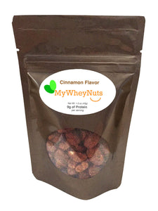 My Whey Peanuts - Cinnamon Flavor - 1.5oz bag