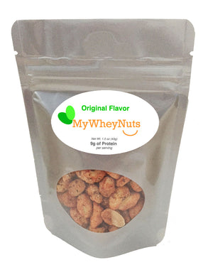 My Whey Peanuts - Original Flavor - 1.5oz Bag