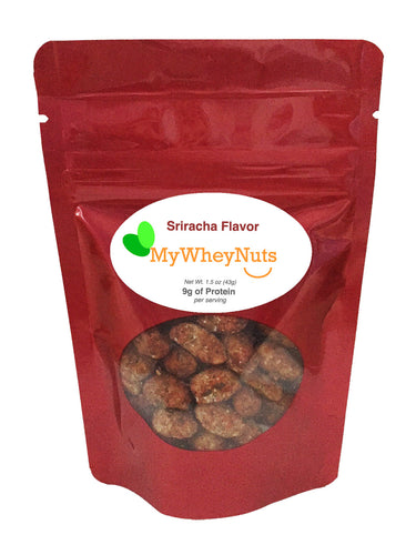 My Whey Peanuts - Sriracha Flavor - 1.5oz bag