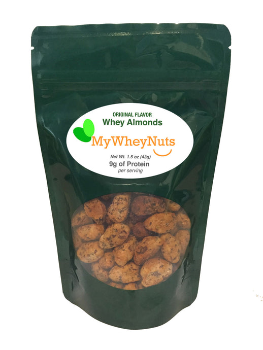 Original Flavor, Whey Almonds 1.5oz Bag