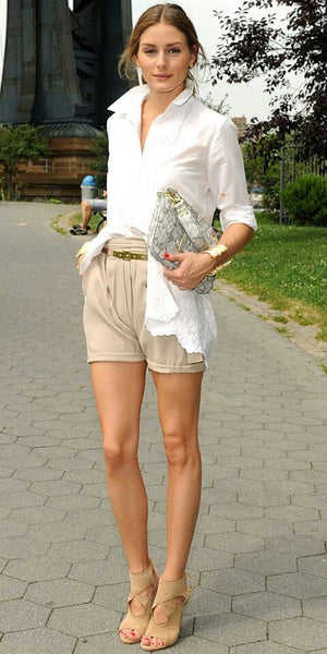 Short and blouse combination