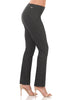 Ease into Comfort Straight Leg Pull-on Pant with Tummy Control