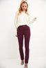 Pull-on Straight Dress Pants with Tummy Control
