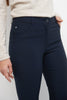 Stretch 5 pocket straight leg pants