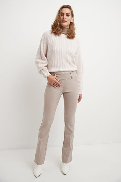 Ease into Comfort Fit Bootcut Pant with Tummy Control and Pockets