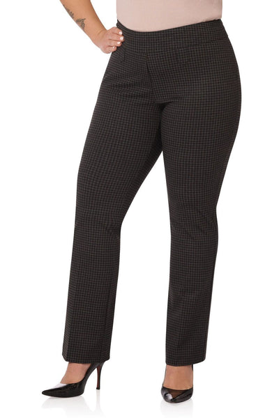 Curvy Bootcut Pants with Tummy Control