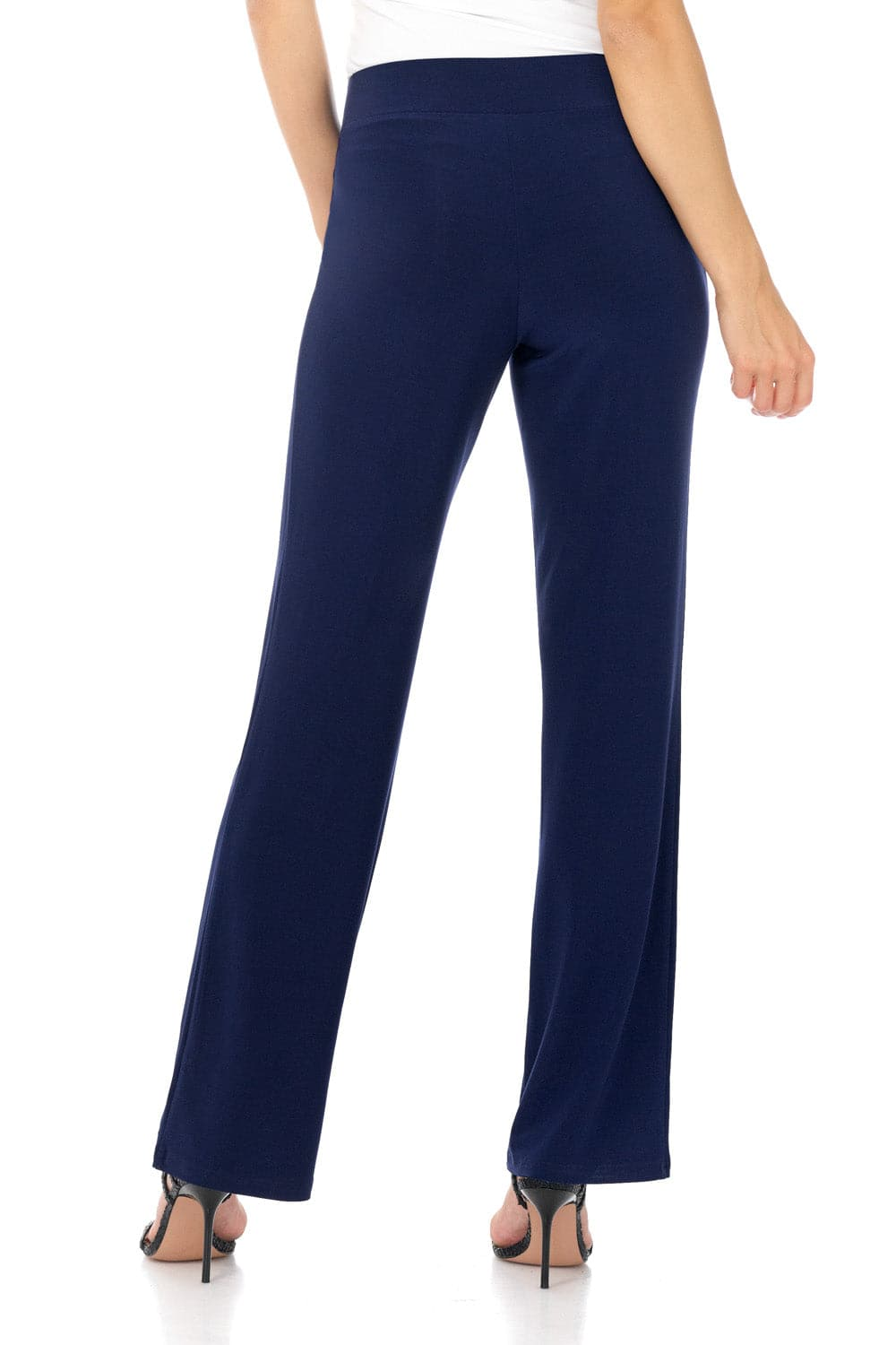Comfy Collection Wrinkle Resistant Straight Leg Dress Pants
