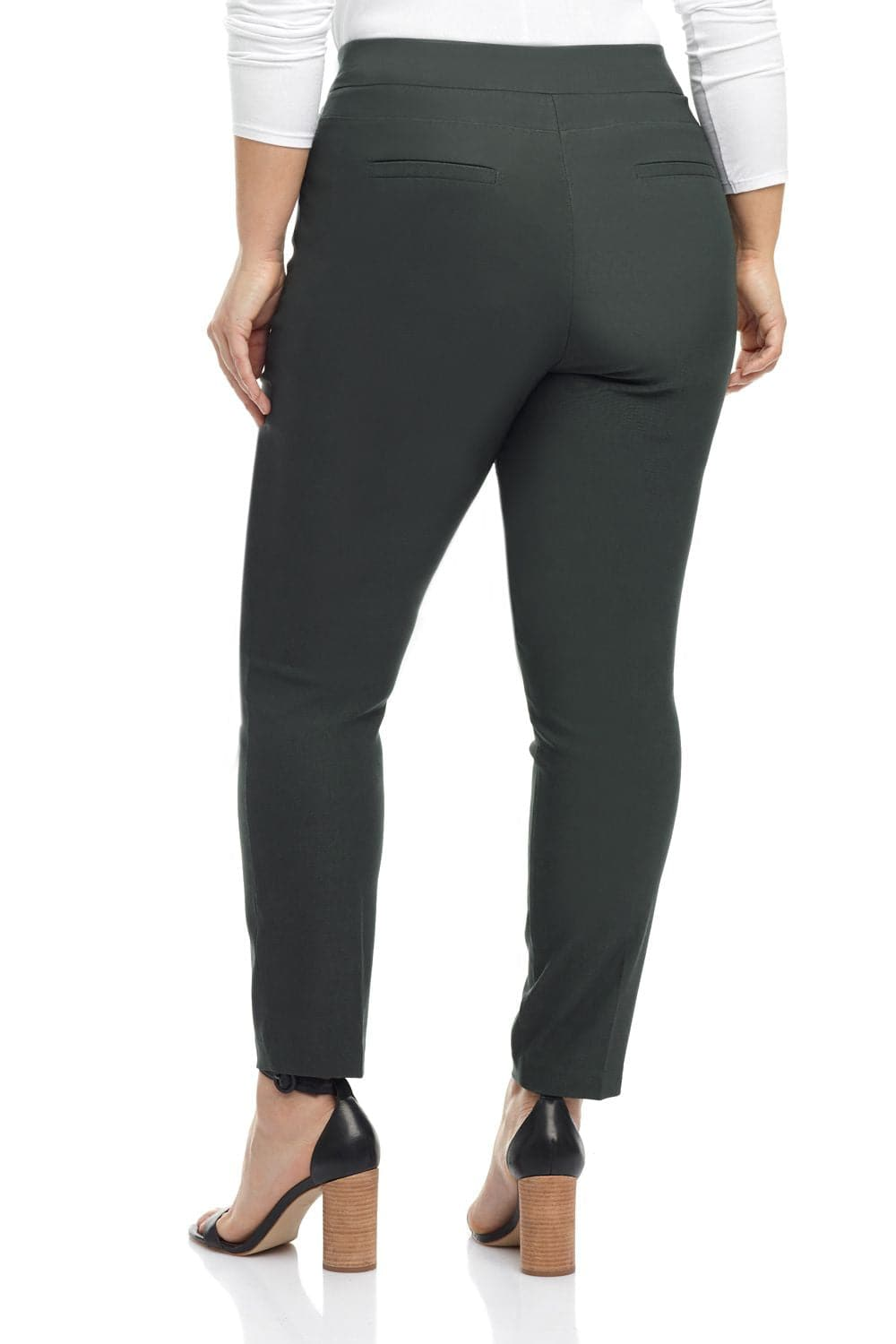 Curvy Woman Ease into Comfort Fit Modern Skinny Pant with Tummy Control