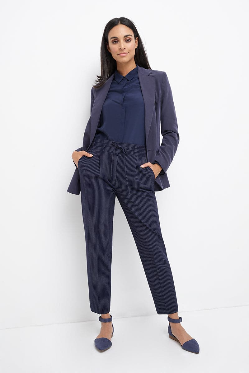 Pull-on Work Pants with Real Pockets