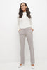 Easy care straight leg dress pants
