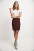"Classic 19"" Above the Knee Pencil Skirt"