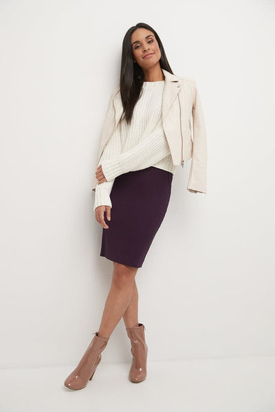 Ease into Comfort Fit Perfect Midi Pencil Skirt