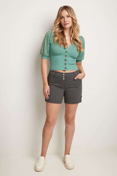 "Pull-on 5"" Classic Shorts with Real Pockets"