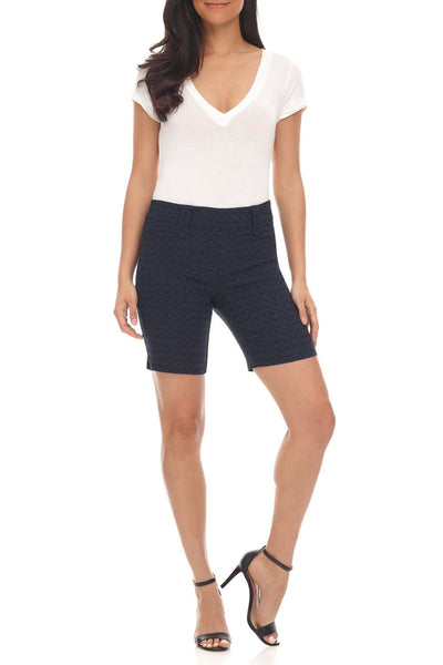 "Pull-on 8.5"" Dressy Shorts for Office"