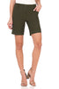 "Women's 8"" Dressy Shorts with Stitched Cuff"