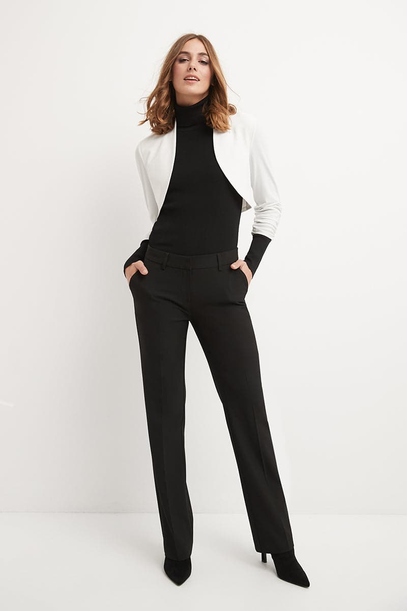 Chic Soft Knit Stretch Bolero Shrug with Ruched Sleeves