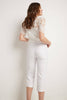 Women's Straight Leg Capris with Chic Styling