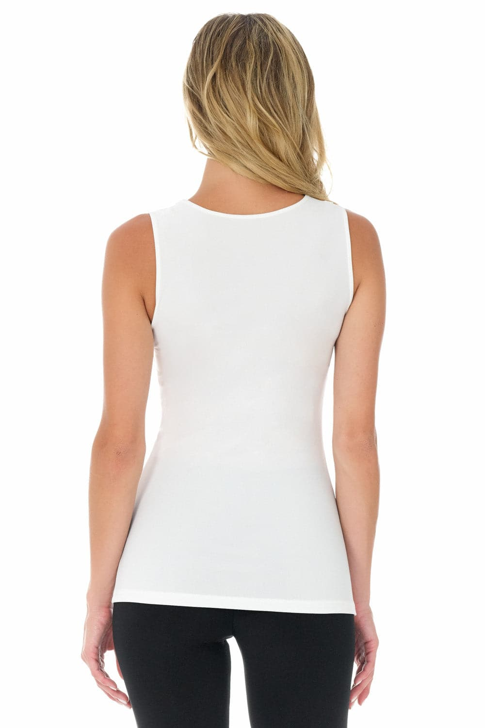 Travel-in-Style Sleeveless Knit Business Casual Top