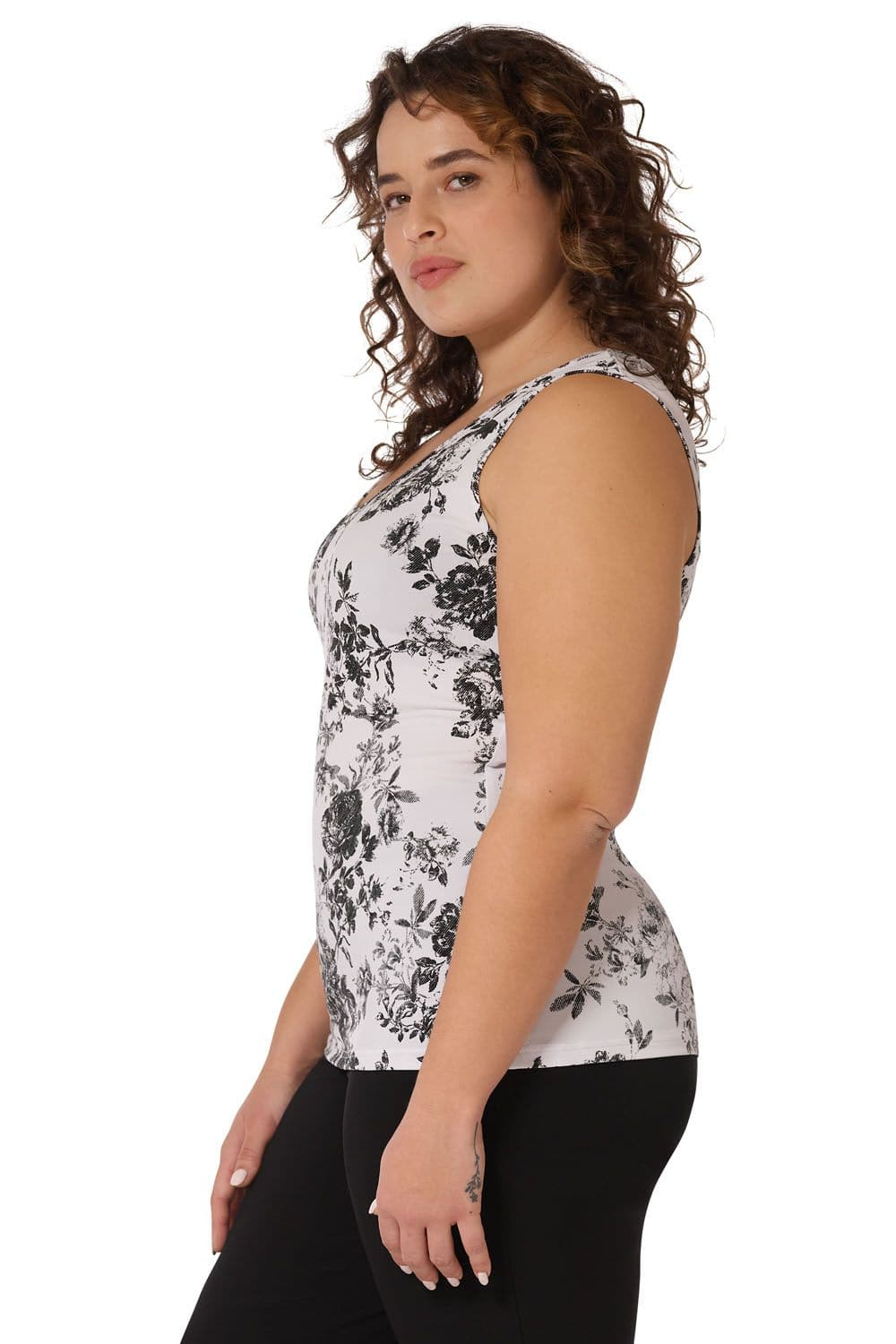 Comfy Collection Curvy Business Casual Top for Women