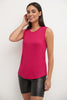 Soft Jersey Knit Sleeveless Tank Top