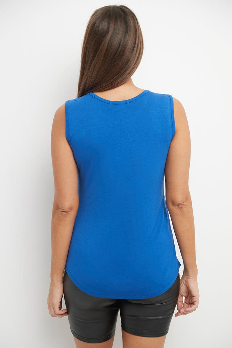 Sleeveless Business Casual Top