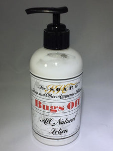 Bugs Off Lotion Pump