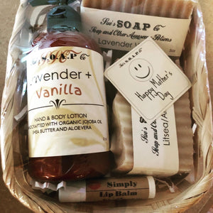 Lotion Soap Gift Basket