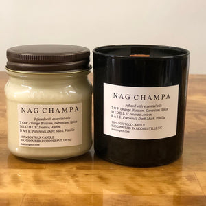 Wood (Crackling) Wick Soy Candles