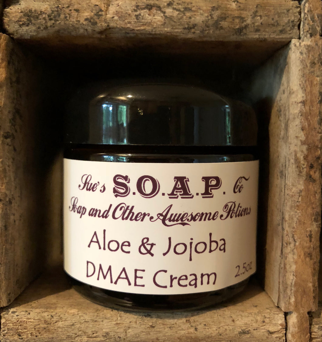 Aloe and Jojoba Face Cream with DMAE
