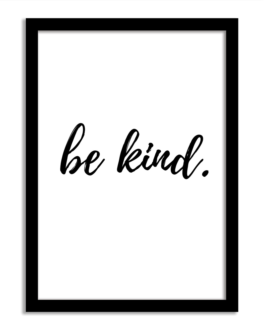 Quotes Framed Print - Be Kind