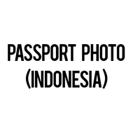 Passport Photo - Indonesia (Set of 4 photos) - 4 x 6 cm