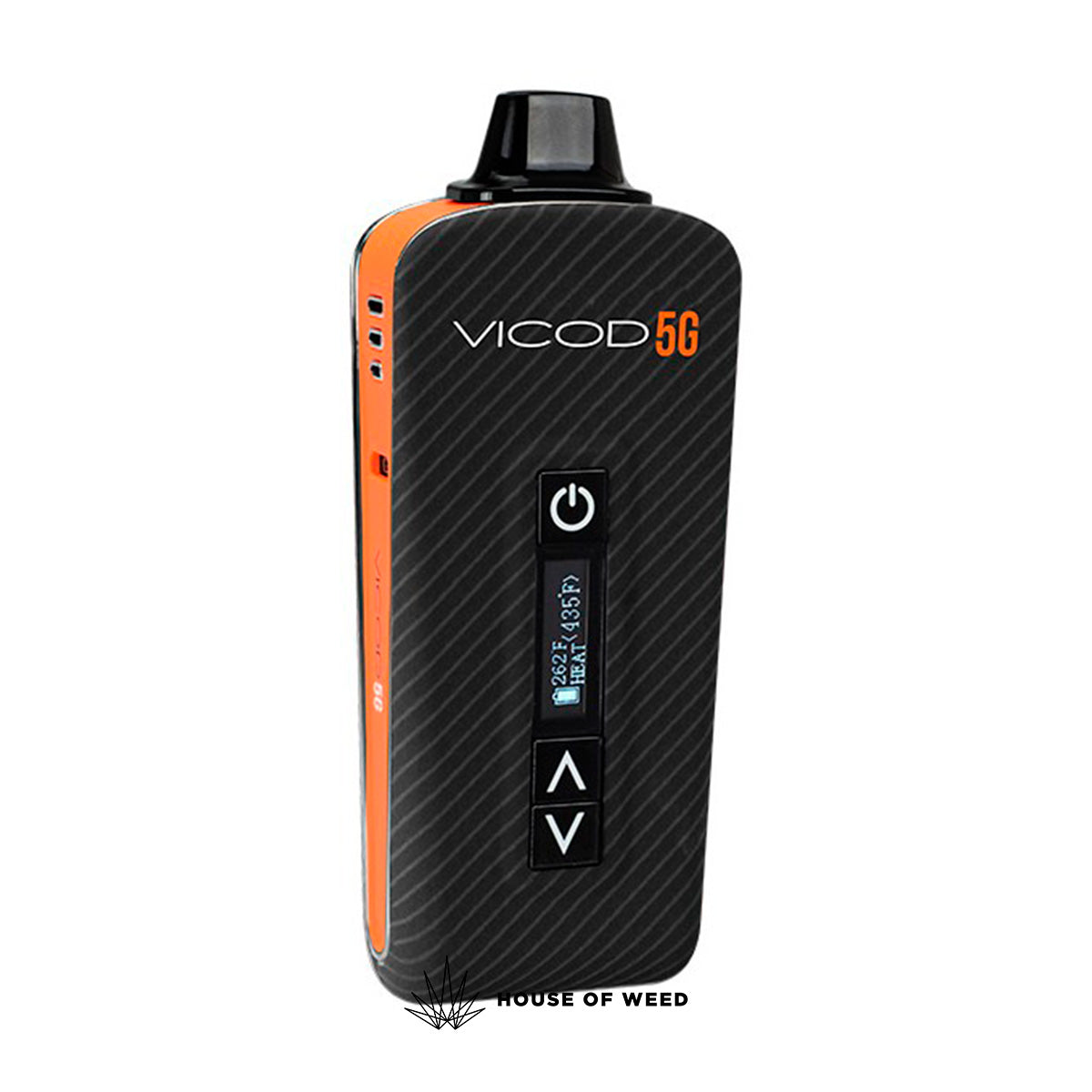 Vaporizador Atmos VICOD 5G chile color negro I Tienda online House of Weed