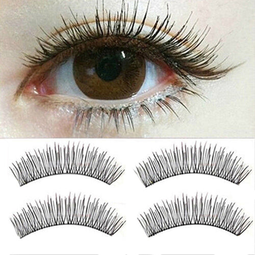 Sweet Deal 10 Pairs Soft Natural Cross Eyelashes