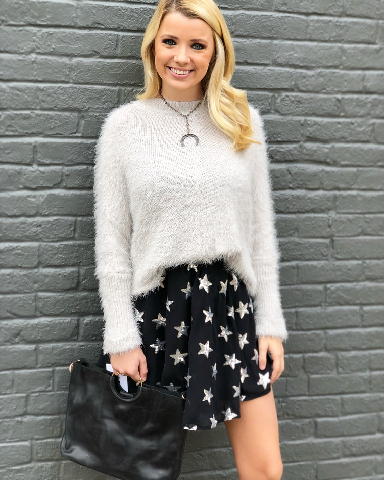 Sequin Star Skirt by Buddy Love