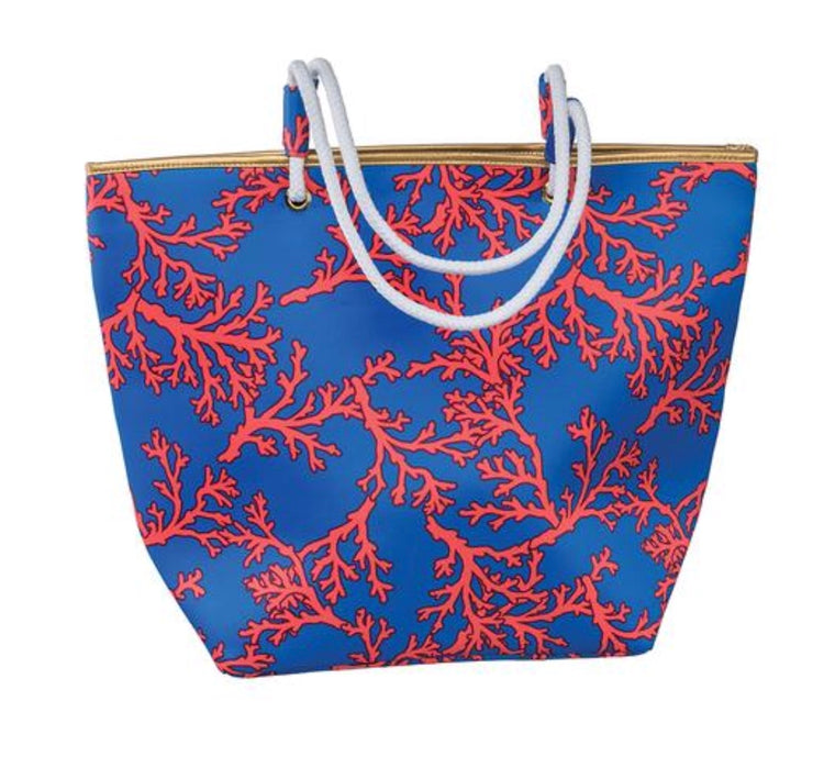 Hampton Beach Bag, Coral Reef